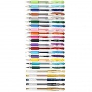 Caneta Esferográfica UniBall Signo DX - Kit com 23 cores