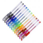 Caneta gel glitter - Cool Pen - 12 cores