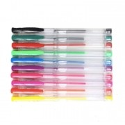 Caneta gel - Nice Pen - Cores Clássicas