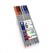 Caneta Staedtler Triplus Fineliner, 0.3mm, Nature Colours