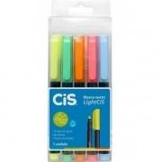 CIS, Marca Texto Cis Light - Pack com 5