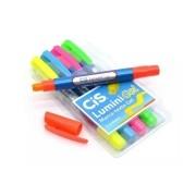 CIS, Marca Texto Lumini Gel  - Pack com 5