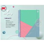 DAC, Caderno 1/4 DAC Enjoy, 10 matérias -160 folhas