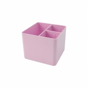 Dello, Porta Objetos Organizador De Mesa Com 3 Divisórias