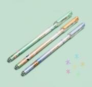 Kawaii Pen, Caneta gel ponta agulha paisagem 0.38 mm - unidade
