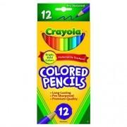 Lápis de cor Crayola - 12 cores