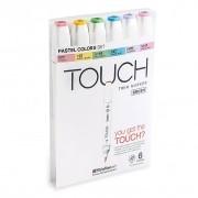 Marca Texto Shinhan Art Touch Twin Brush - Pastel