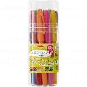 Pentel brush touch - 12 cores