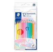 Staedtler, Lápis de cor tons pastel - 12 cores
