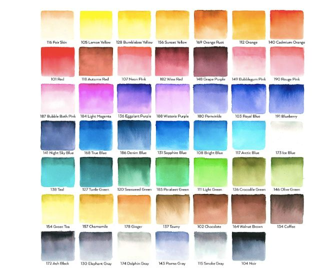ARTEZA Real Brush Pens - 48 cores