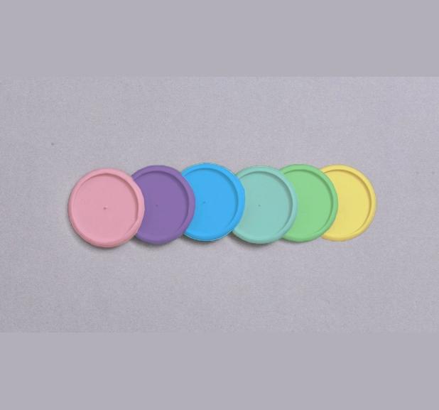 Caderno Inteligente - Discos + Elástico Col. Cores da Terra
