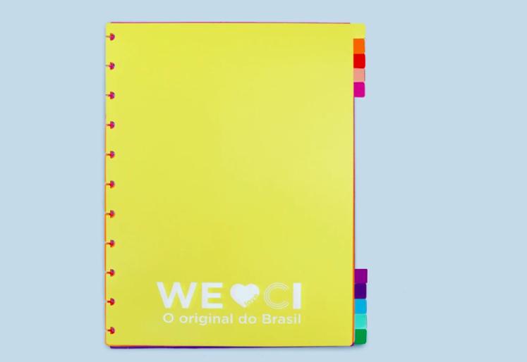 Caderno Inteligente, Divisória Colorcode Grande - 10 peças