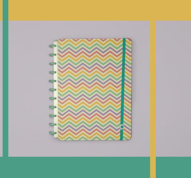 Caderno Inteligente - Estampa ManIa - Popy