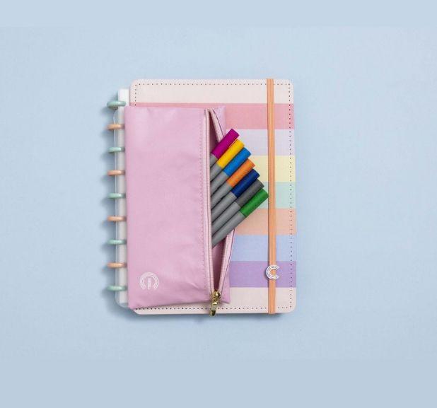 Caderno Inteligente - Estojo Rosa