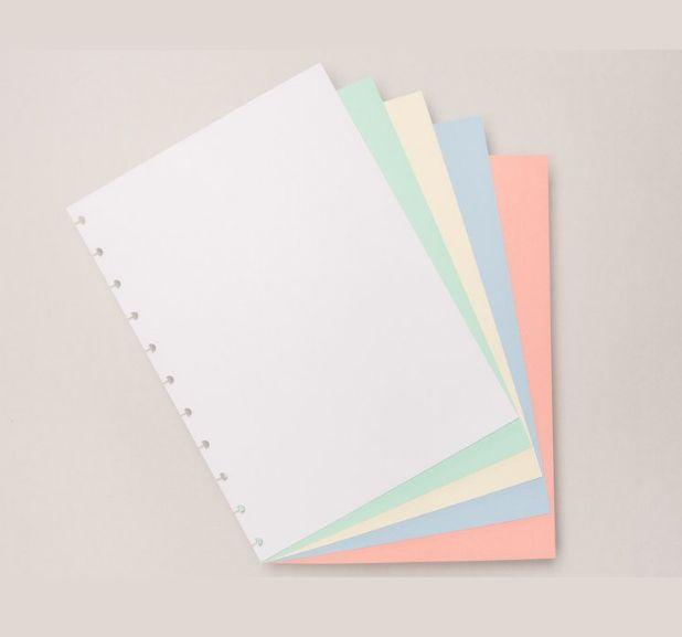 Caderno Inteligente - Folha Refil Colorido