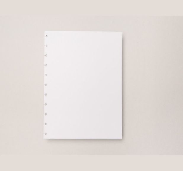 Caderno Inteligente - Folha Refil Liso