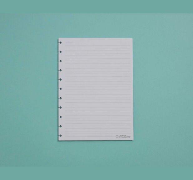 Caderno Inteligente - Folha Refil Pautado