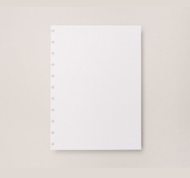 Caderno Inteligente - Folha Refil Pontilhado