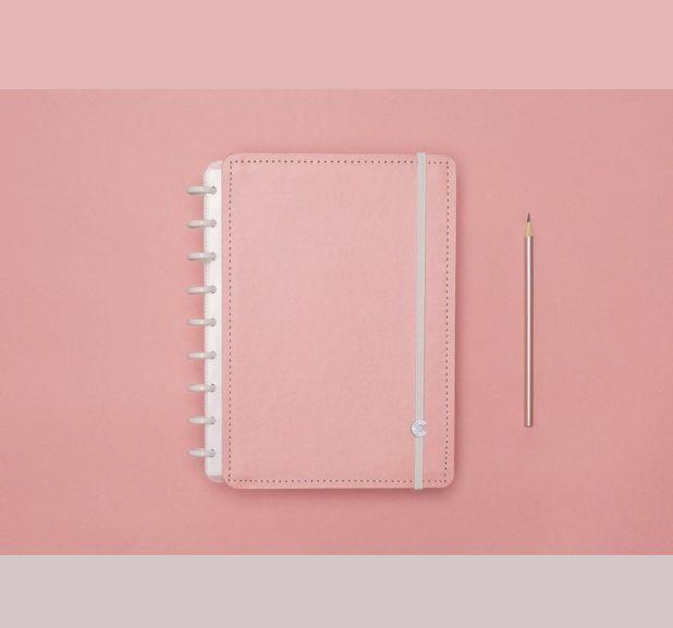 Caderno Inteligente - Médio  - Tons Pastel