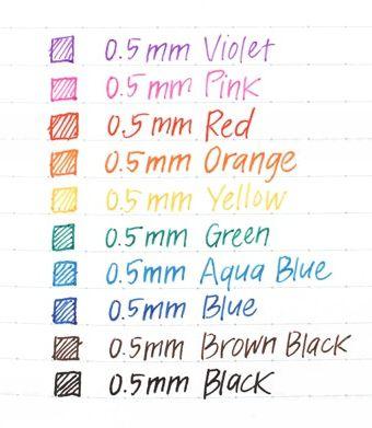 Caneta em Gel Sakura Ballsign - cores Clássicas