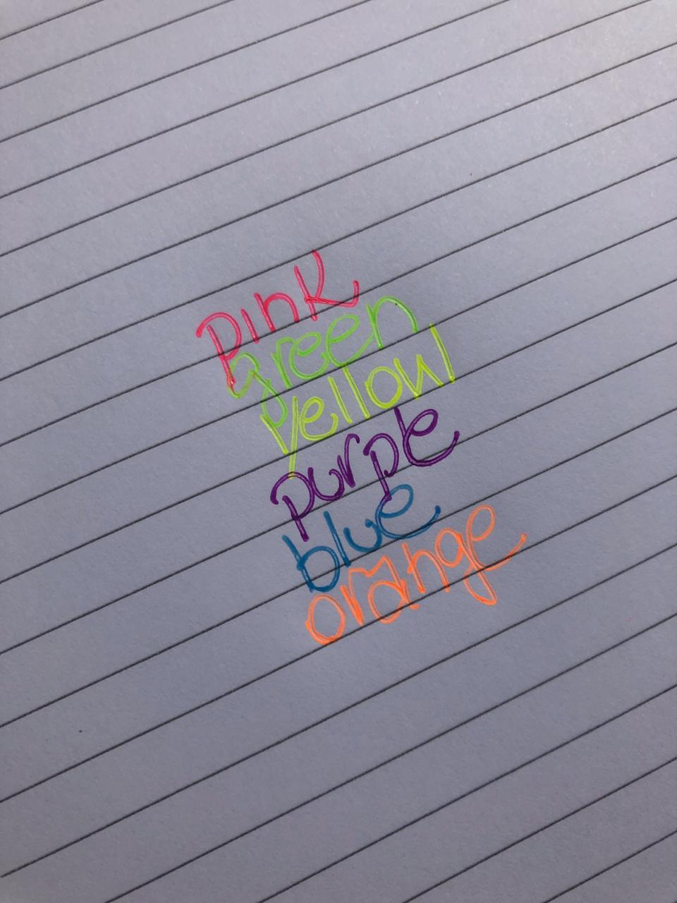 Caneta gel Arteza - Rainbow