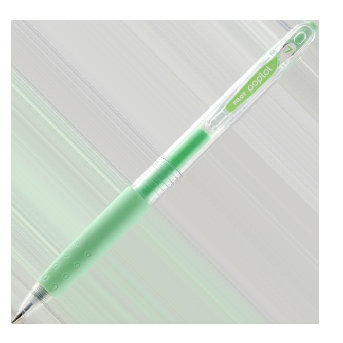 Caneta Pilot Pop'lol 0,7mm - Pastel - 4 cores