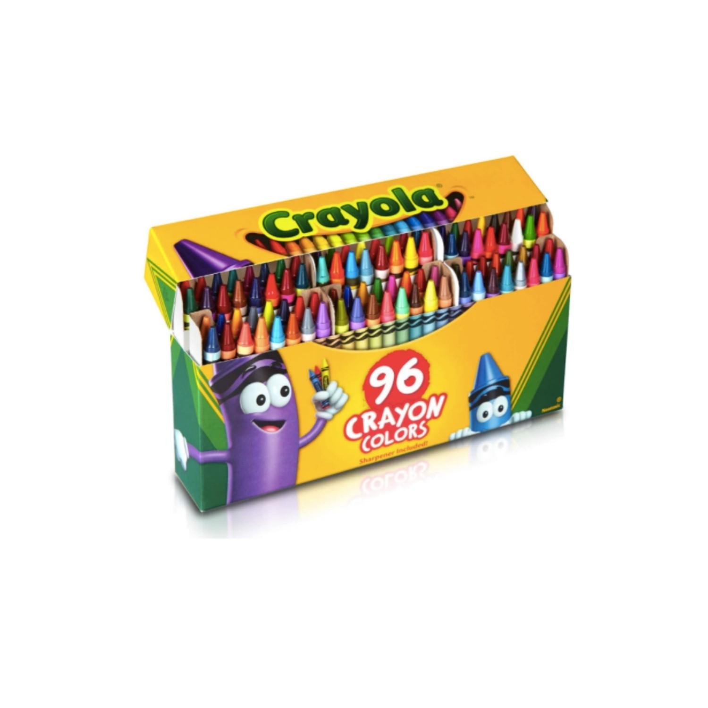 Crayola, Crayons  giz de cera  - 96 cores