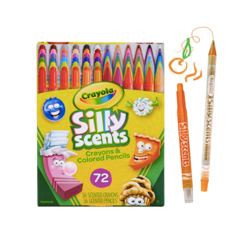 Crayola, Silly Scents Twistables, Giz de cera e lápis perfumados