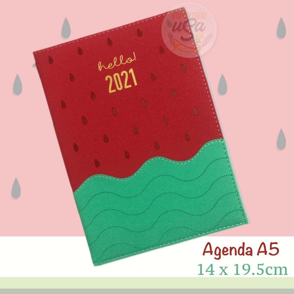DAC, Agenda Executiva 2021 - Melancia - c/ 336 Páginas - A5