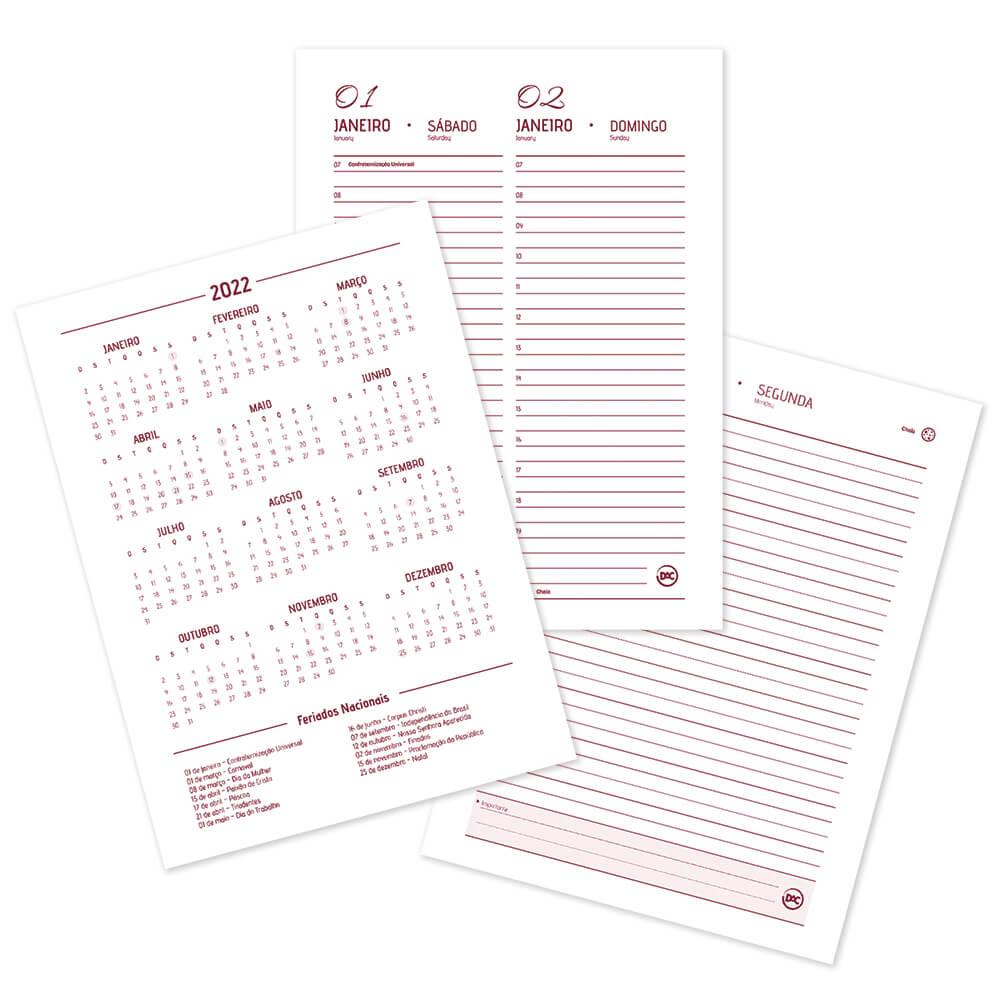 DAC,  Agenda Executiva  2022 - c/ 336 Páginas - A5