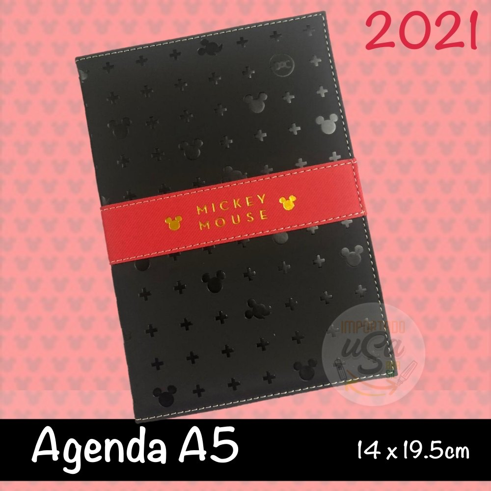 DAC,  Agenda Executiva Mickey  2021 - c/ 336 Páginas - A5