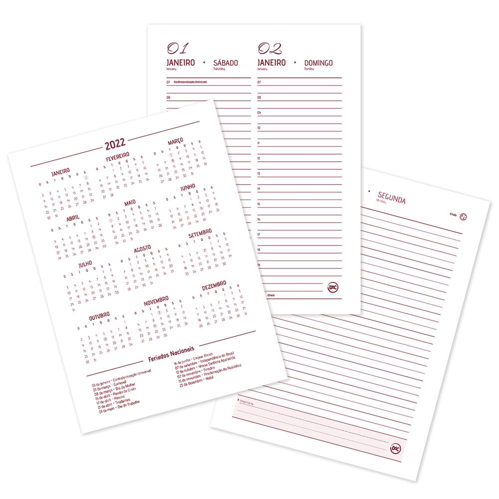 DAC,  Agenda Executiva Minnie 2022 - c/ 336 Páginas - A5