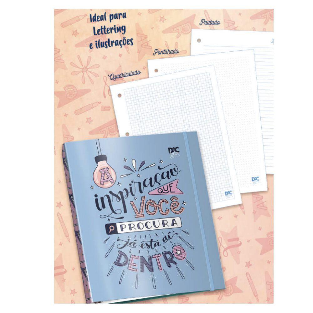 DAC, Caderno Argolado Universitário Letter, 80fls