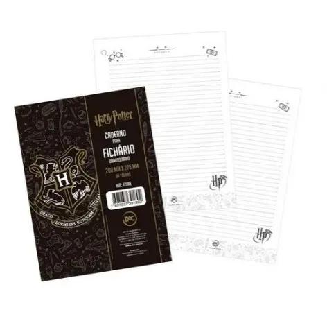 DAC, Folha refil fichário universitário A4- Harry Potter