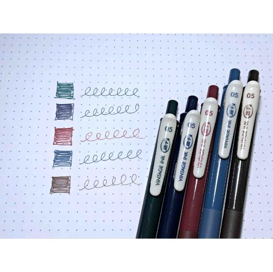 Ds, Caneta gel Vintage Ink - unidade