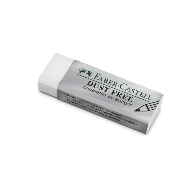 Faber Castell, Borracha Dust Free - Branca
