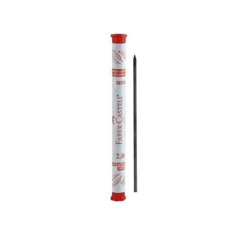 Faber Castell, Grafite 2.0 mm HB - Tubo c/ 6 unidades