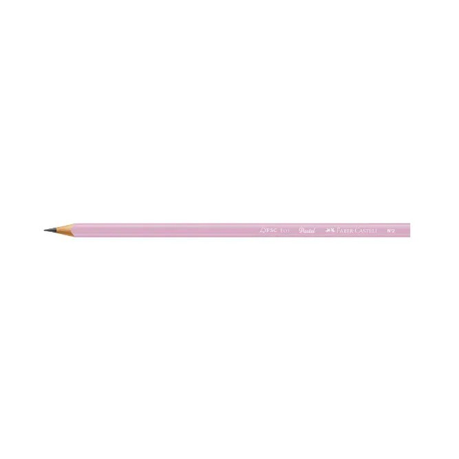 Faber Castell, Lápis Grafite + Apontador + Borracha, Max Tons Pastel