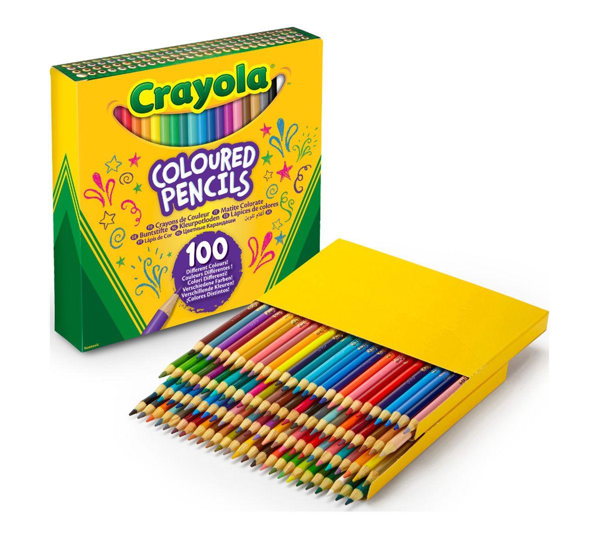 Lápis de cor Crayola - 100 cores