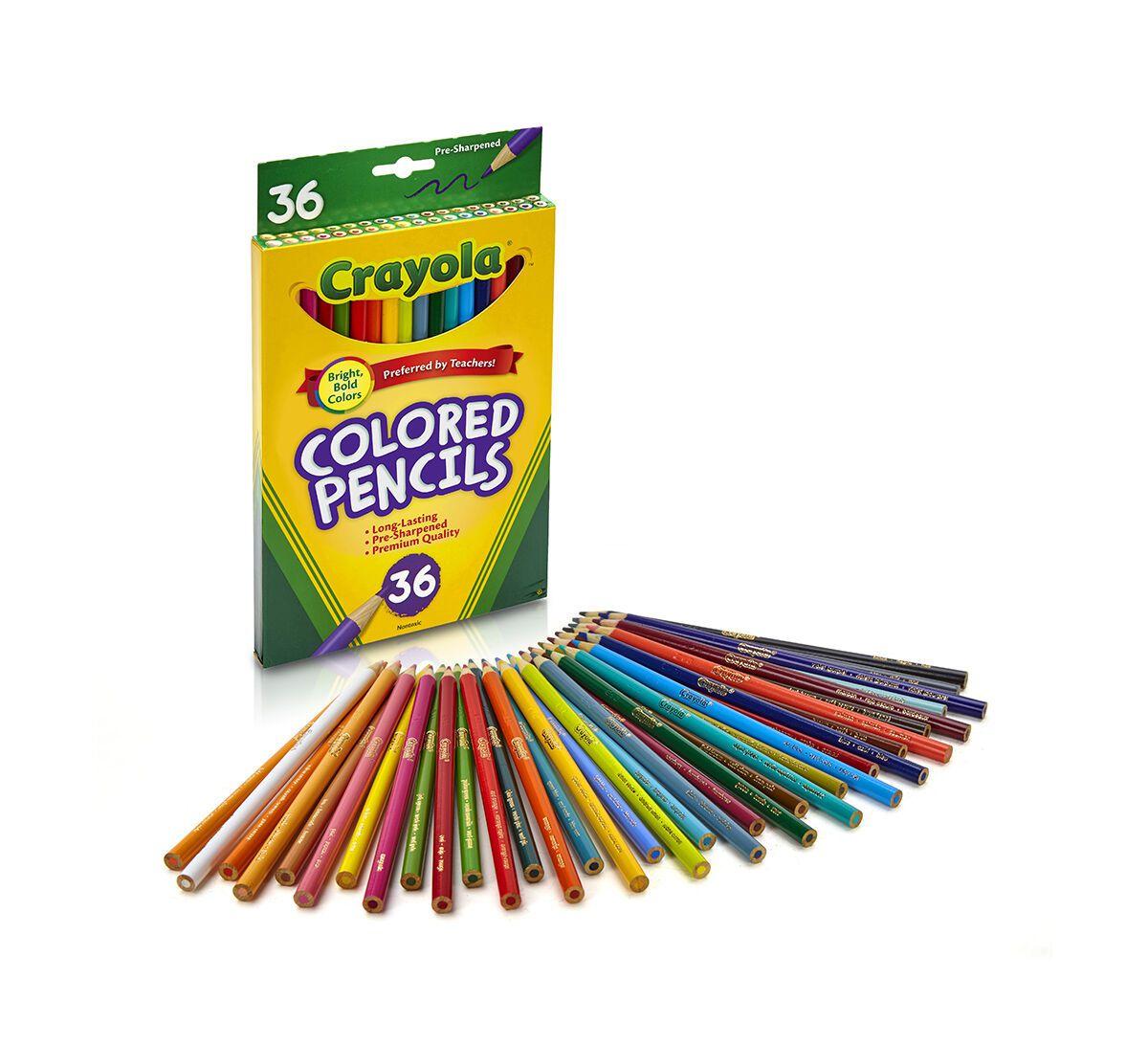 Lápis de cor Crayola - 36 cores