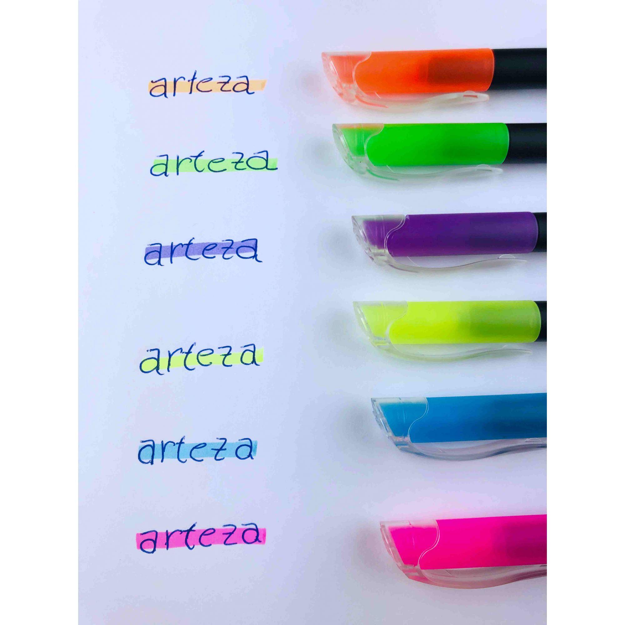 Marca Texto Arteza premium - 6 cores