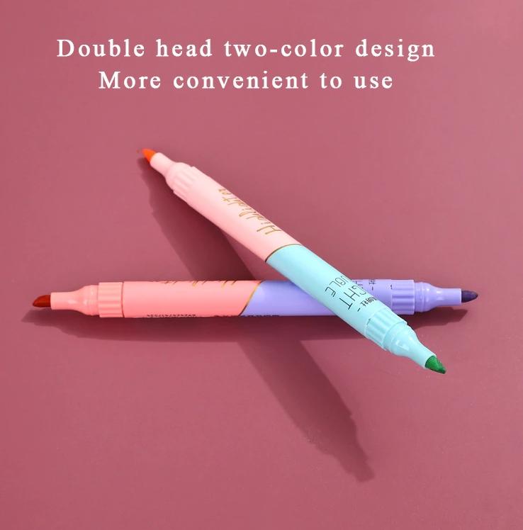 Marca Texto duas cores Light Double - unidade