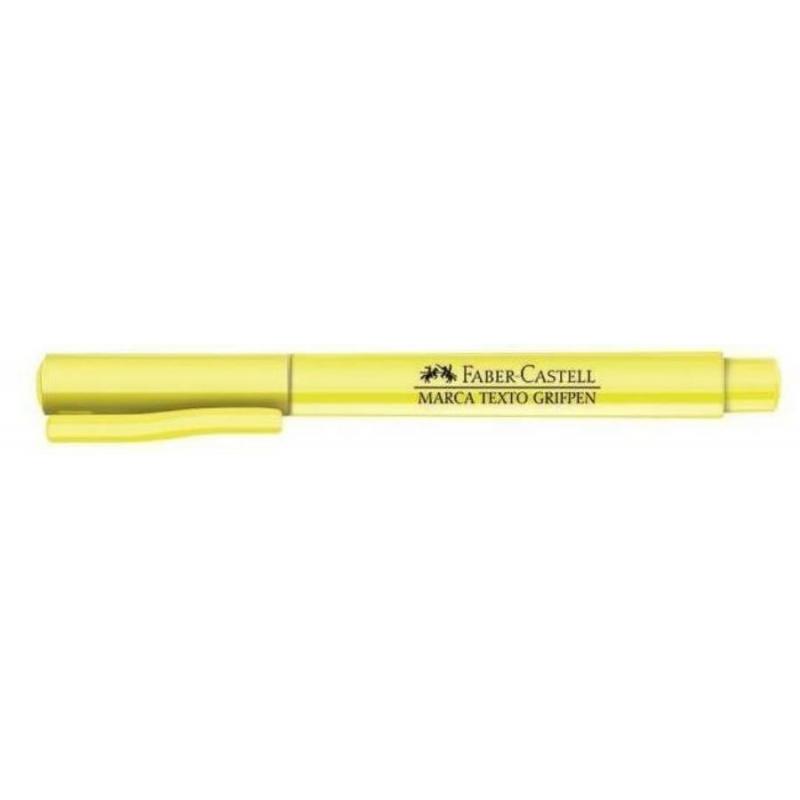 Marca Texto Faber Castell Grifpen 6 cores- Tons Pastel