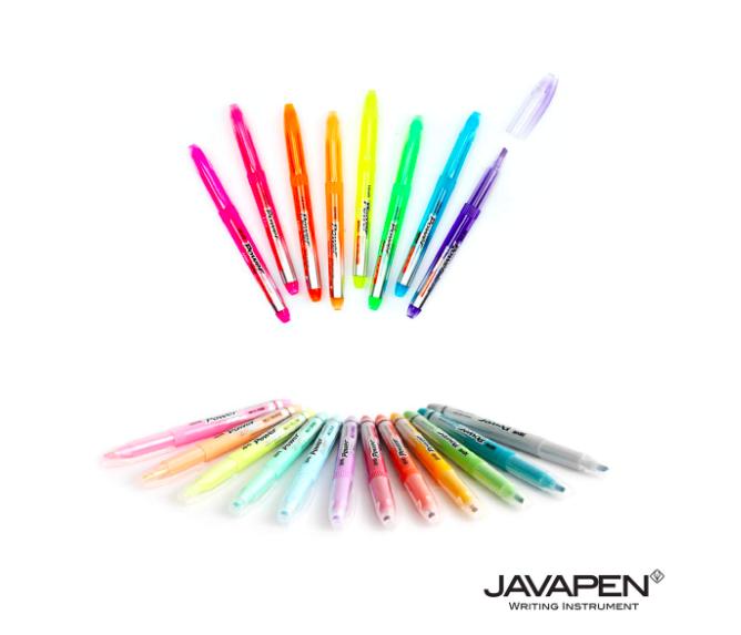 Marca Texto Javapen - Power Line 2500 - 20 cores