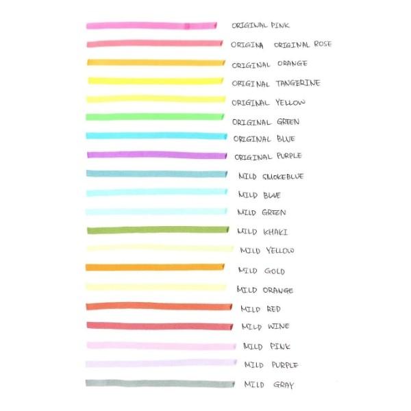 Marca Texto Javapen - Power Line 2500 - Pastel e Fluo - Unidade