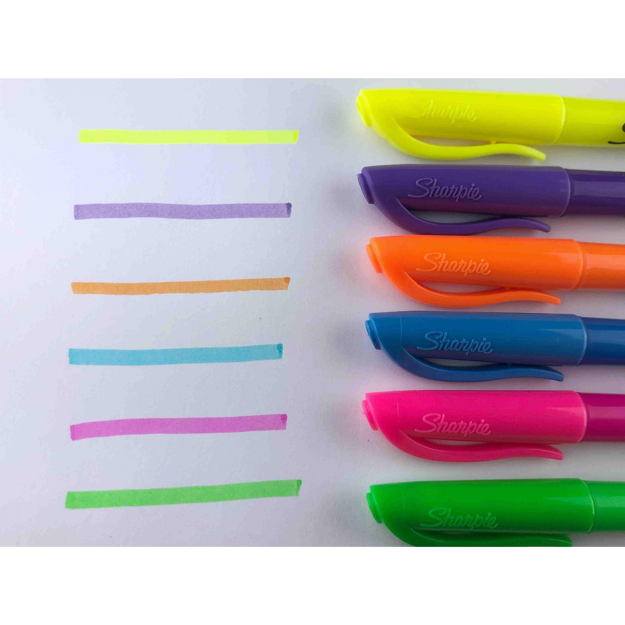 Sharpie - Marca Texto com 6 cores