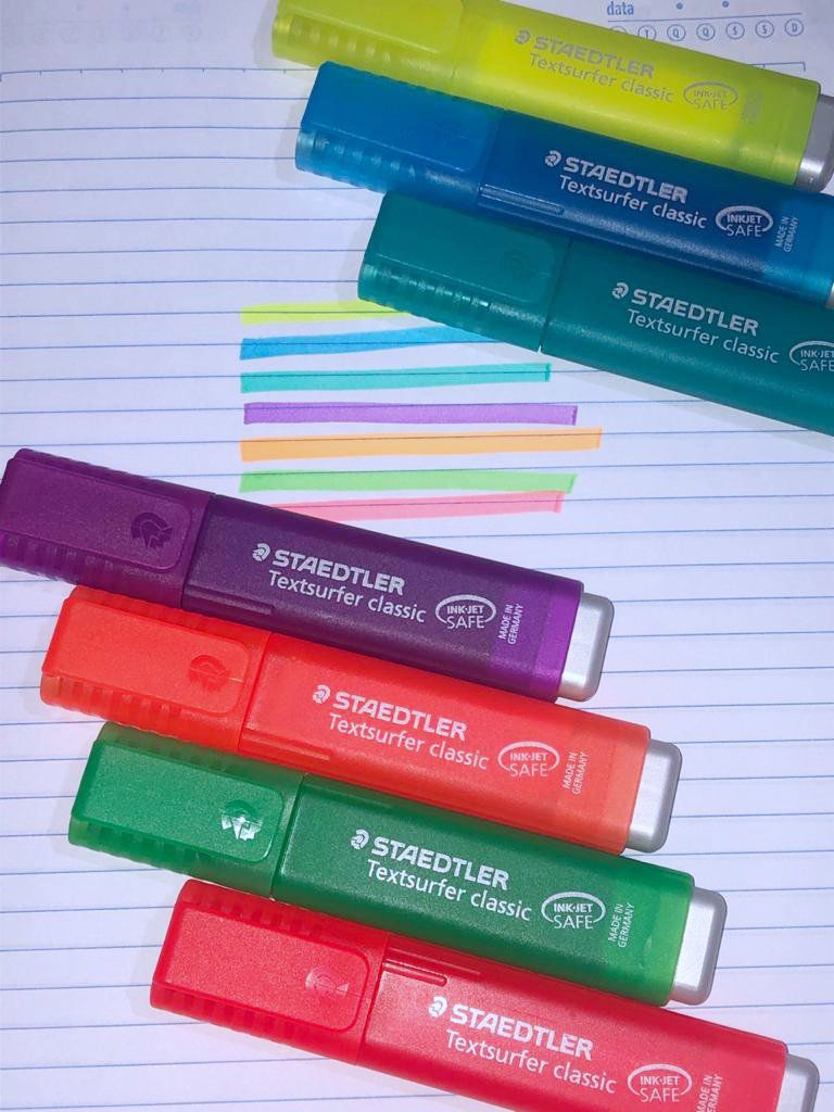 Marca texto Staedtler Textsurfer classic - Rainbow Colours