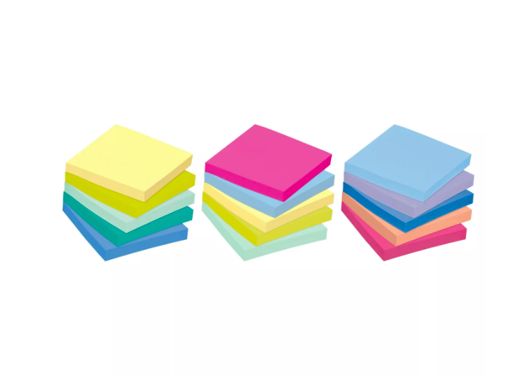 Post-it Collection Pastel, 15 blocos