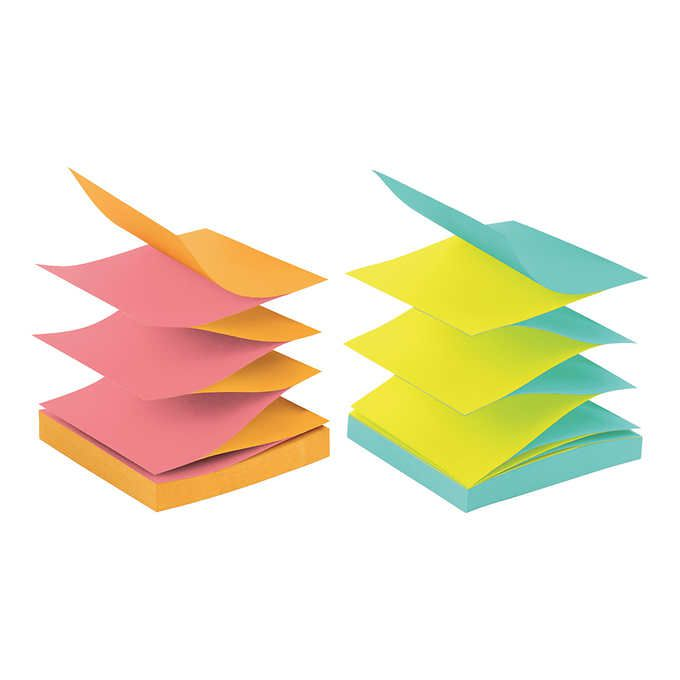 Post it Pop-up Notes - Colorido - 600un