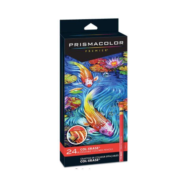 Prismacolor,  Lápis de cor apagável Premier  24 cores